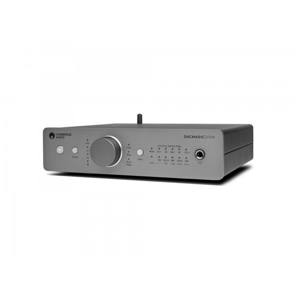 Hi Fi - Cambridge Audio DacMagic 200M Lunar Grey Digital to Analogue Converter -  DAC
