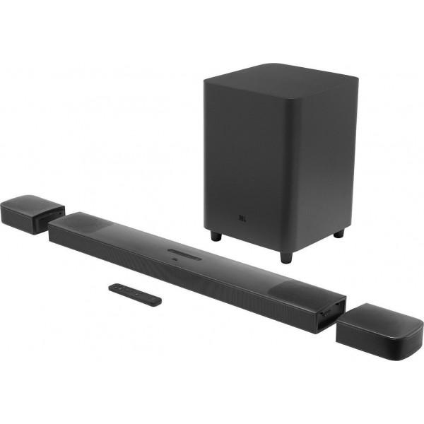 Speakers - JBL Bar 9.1 True Wireless Surround Soundbar, Dolby Atmos, Bluetooth Soundbars