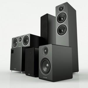 Acoustic Energy 5.1 SET 100 Series Satin Black