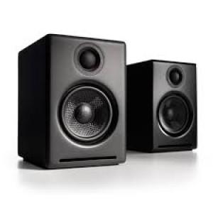 AUDIOENGINE A2+ Wireless Satin Black (Ζεύγος)