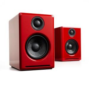 AUDIOENGINE A2+ Wireless Hi-Gloss Red (Ζεύγος)