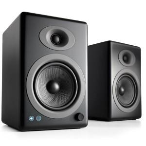 AUDIOENGINE A5+ Satin Black Wireless (Ζεύγος)