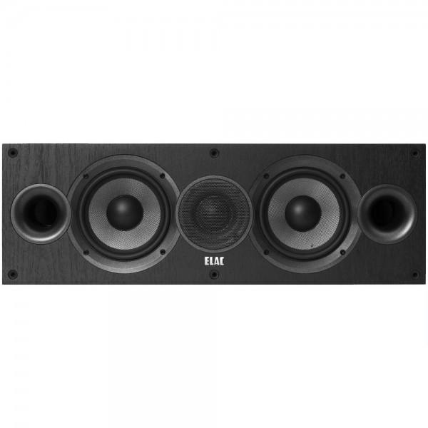 ELAC Debut C5.2 Black Ash Vinyl Centers