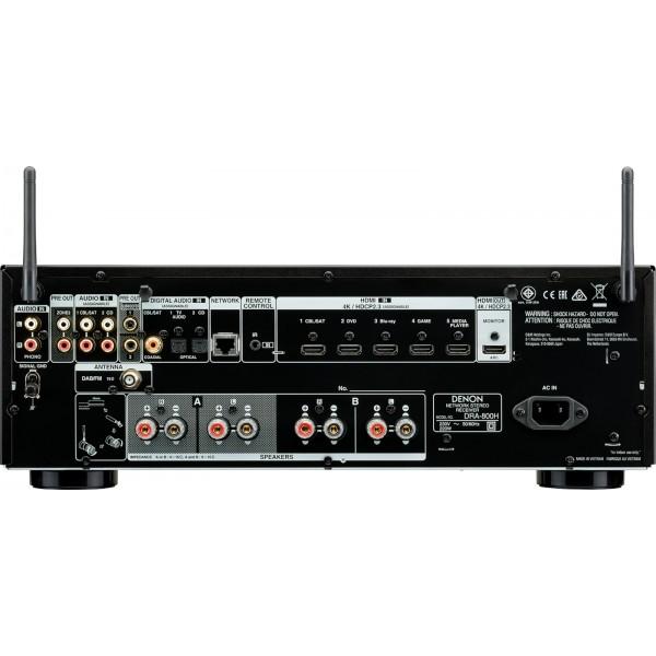 Hi Fi - DENON DRA-800H Black Stereo Receivers