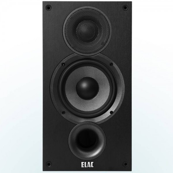 ELAC Debut B5.2 Black Ash Vinyl (Ζεύγος) Stand Mount