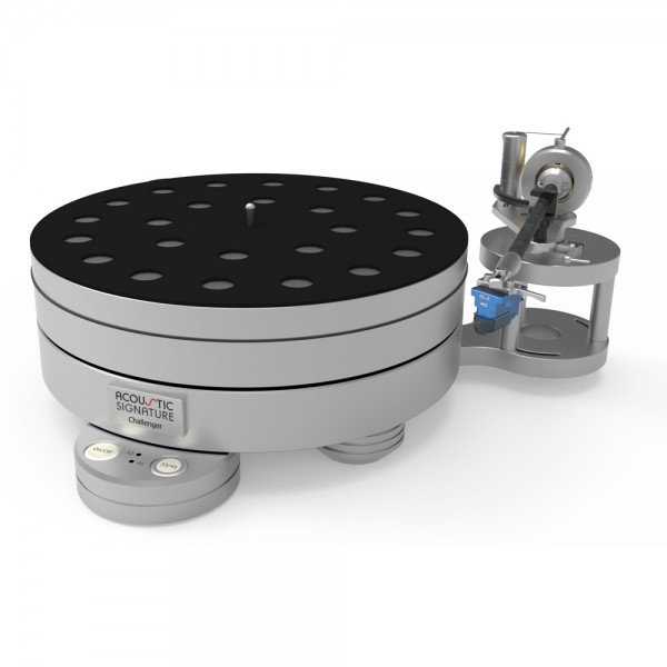 Phono Turntable - Acoustic Signature Challenger 2018 Silver Turntables