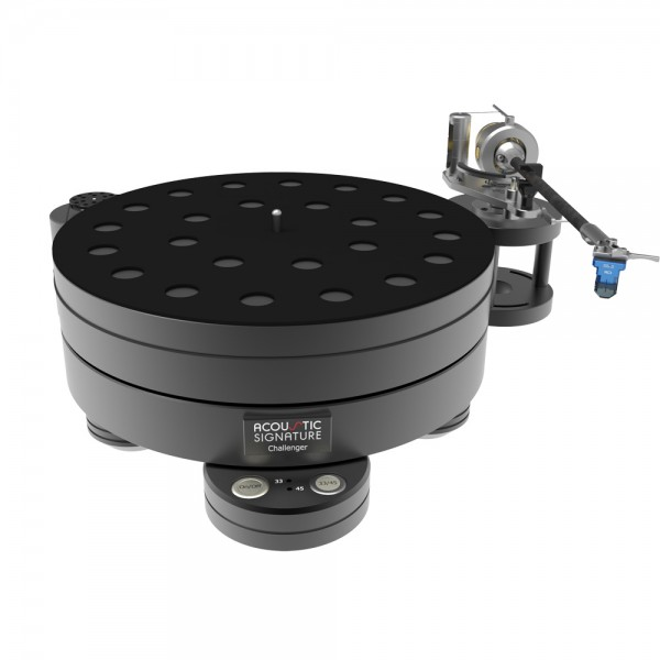 Phono Turntable - Acoustic Signature Challenger 2018 Black Turntables