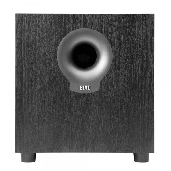 ELAC Debut S10.2 Black Ash Vinyl Subwoofer