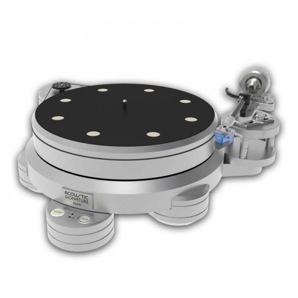 Phono Turntable - Acoustic Signature Storm Mk2 2018 Silver Turntables