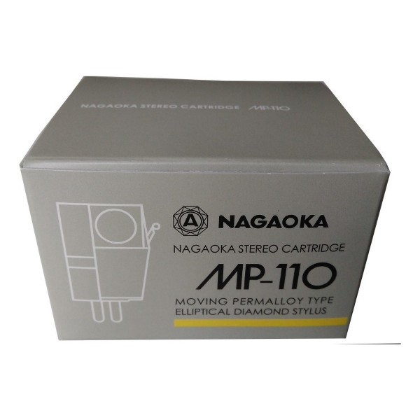 Phono Turntable - Nagaoka MP-110 MM Cartridges