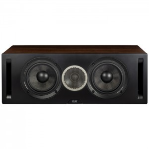 ELAC Debut Reference DCR52 Black/Walnut Wood