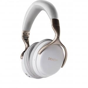 DENON AH-GC25NC Noise Cancellation Headphones White