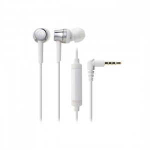 Audio Technica ATH-CKR30iS Silver/White