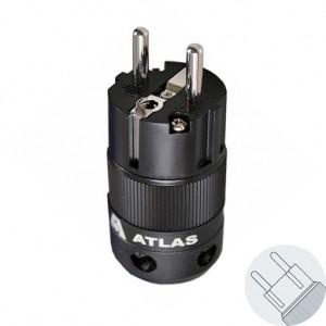 Atlas Cables Schuko Power Plug Connector