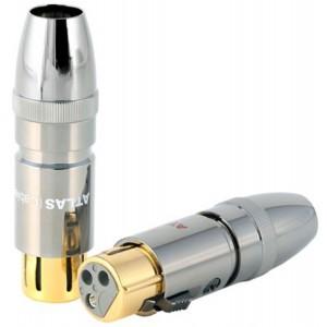 Atlas Cables 3 Pin OCC Female XLR Plug (Τεμάχιο)