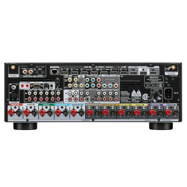 DENON AVC-X4700H Black AV Receivers