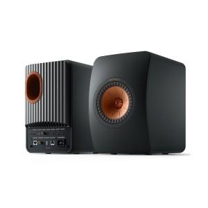 KEF LS50 Wireless II Carbon Black (Ζεύγος)