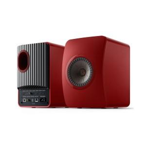 KEF LS50 Wireless II Crimson Red (Ζεύγος)